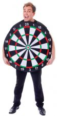 Dart Board Fancy Dress Costume